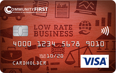 VISA low rate business card