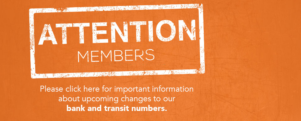 Attention Transit number change
